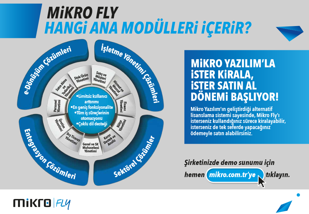 Mikro FLY Hangi Ana Modülleri İçerir